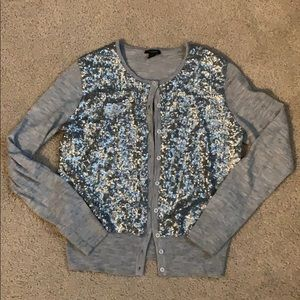 Ann Taylor sequin cardigan, fits like size Small